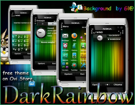 Dark Rainbow by babi