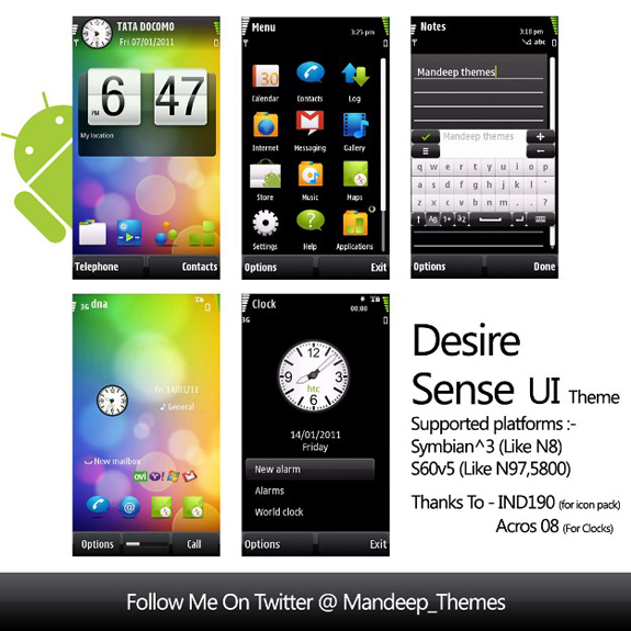 HTC Sense by Mandeep
