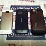 Nokia X3-02,Nokia C5-03 e Nokia N97 Mini
