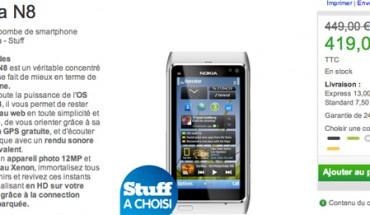 Il Nokia N8 in offerta sul Nokia Online Shop Francese