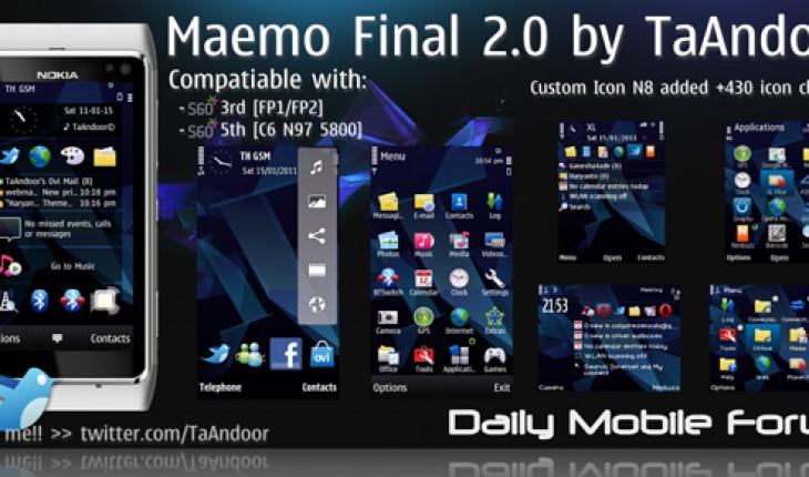 Maemo Final 2.0 by TaAndoor