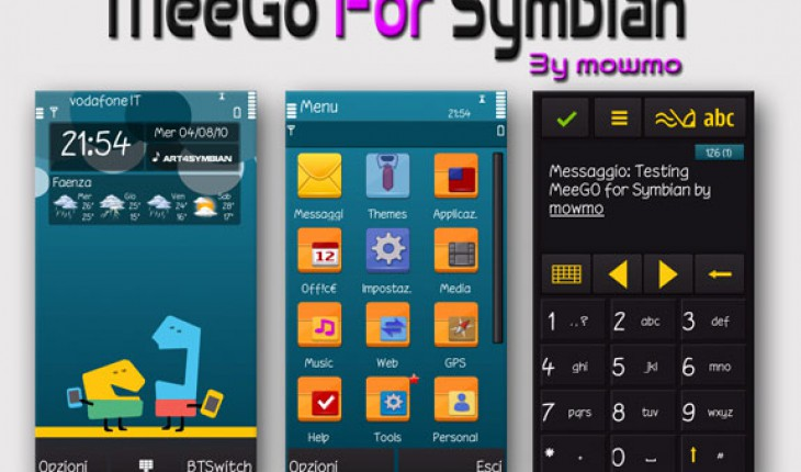 MeeGo for Symbian by mowmo