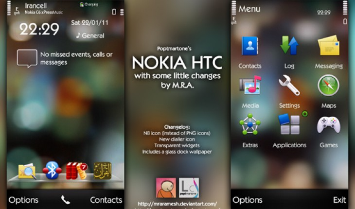 Modded Nokia HTC by M.R.A
