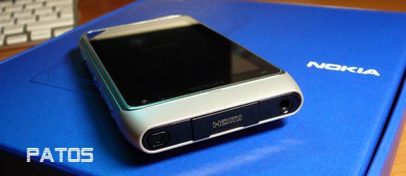 Nokia N8, un dettaglio