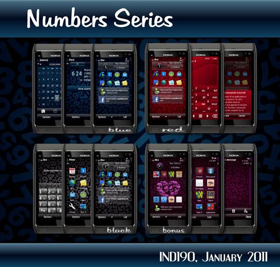 Numbers Series by IND190