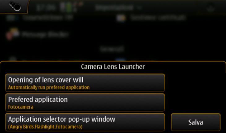 Camera Lens Launcher
