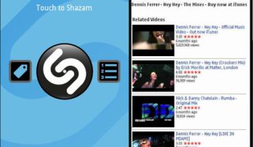 Shazam Qt per Symbian^3