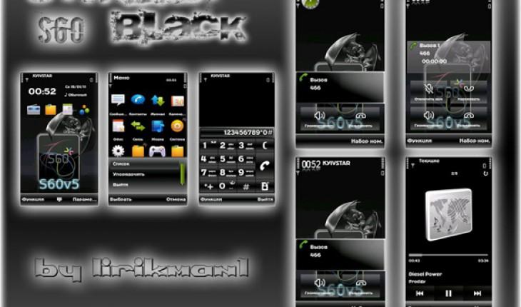 Symbian S60 Black by Lirikman1