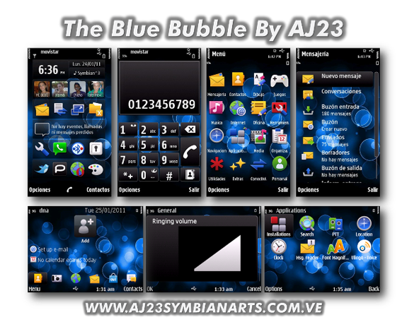 The Blue Bubble by AJ23