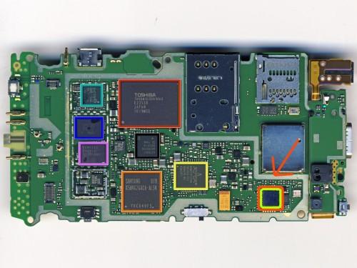 Scheda Madre Nokia N8
