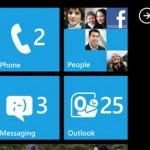 Windows Mobile 7: interfaccia