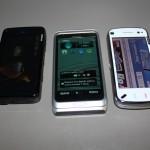 Nokia E7-00, Nokia N97 e Nokia N900