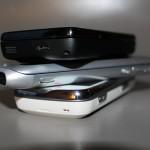 Nokia E7-00, Nokia N97 e Nokia N900 (ammucchiata)