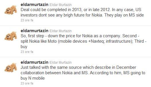 Eldar Murtazin tweets