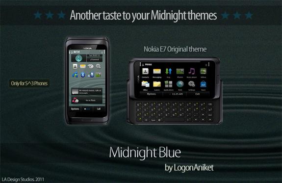 Midnight Blue by LogonAniket