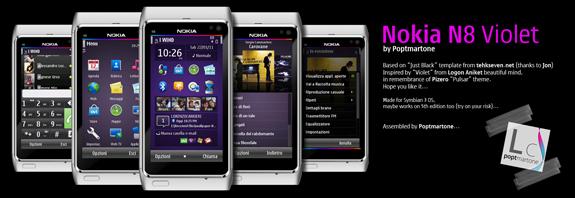 Nokia N8 Violet by Poptmartone