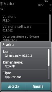 Firmware update PR1.1