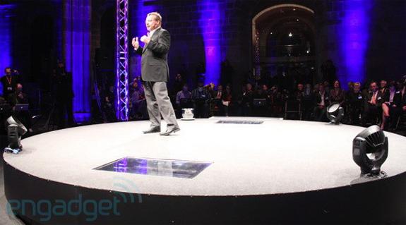 Stephen Elop a Barcellona