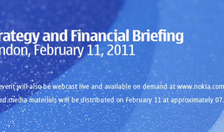 Nokia Strategy & Financial Briefing