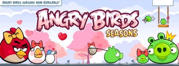 Angry Birds Seasons: Happy Valentine's Day