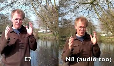 Confronto Video N8-E7