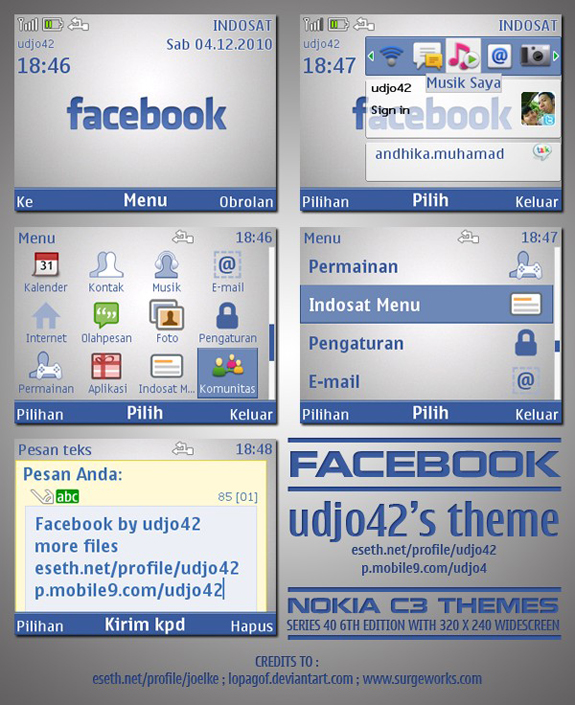 Facebook Mobile by Udjo42