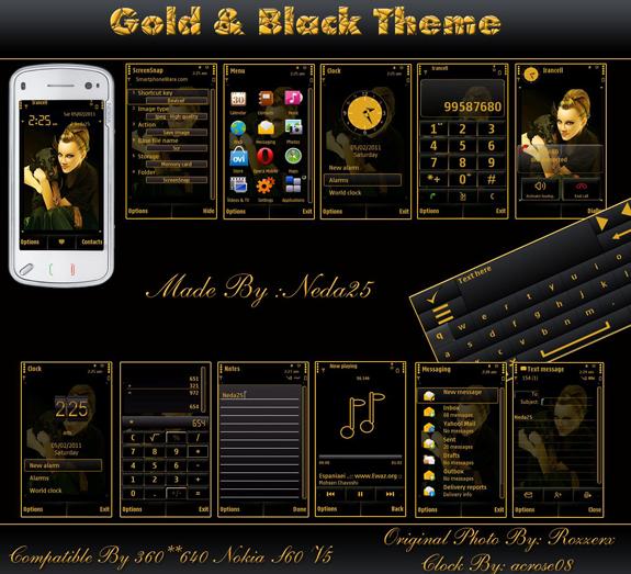 Gold Black by Neda25