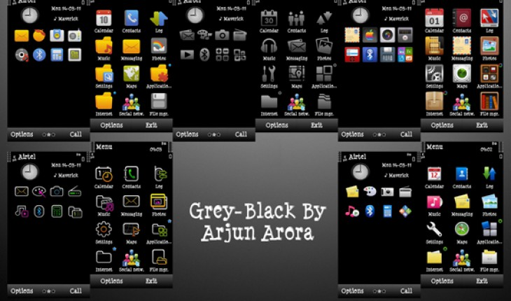 Grey-Black by Arjun Arora