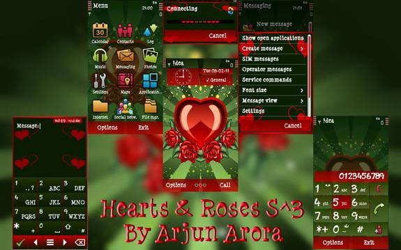 Hearts & Roses by Arjun Arora