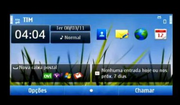 Homescreen Symbian