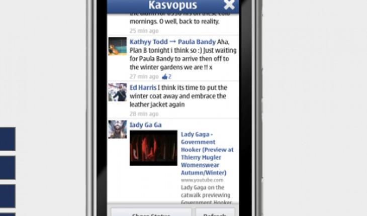 Kasvopus, un client Facebook