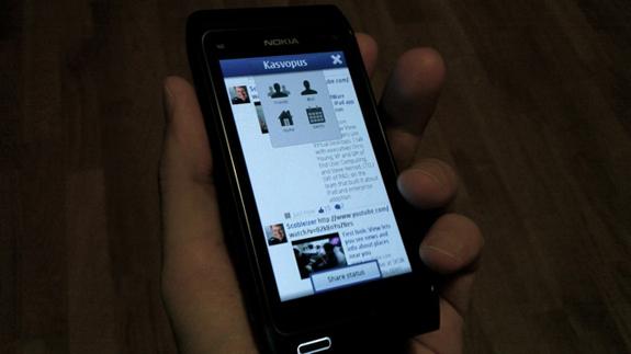 Kasvopus, un client Facebook per Symbian^3 e N900