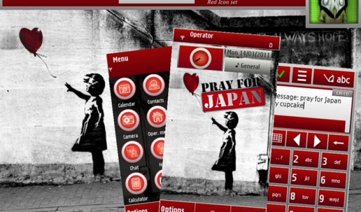 Pray For Japan by Cupcake