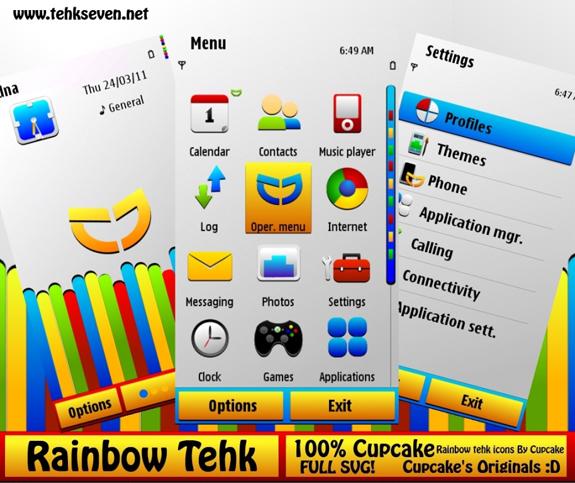 Rainbow Tehk by Chromecupcake