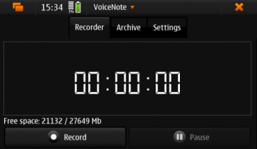 Voicenote
