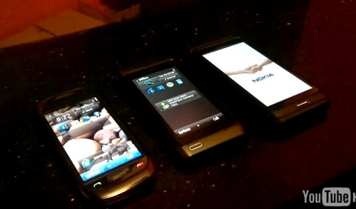 Test Accensione: Nokia C7-00 vs N8 vs E7-00