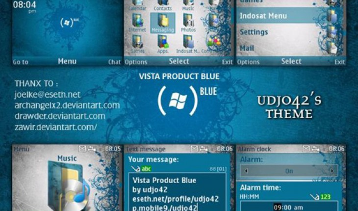 Vista Product Blue by Udjo42