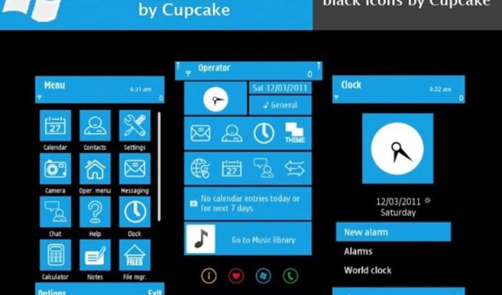 Windows Phone 7 Blue by Cupcake