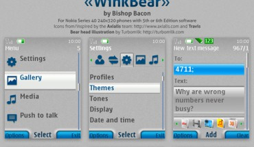 WinkBear by Bishop Bacon