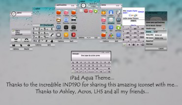iPad Aqua by Arjun Arora