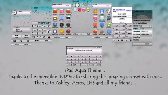 iPad Aqua by Arjun Arora