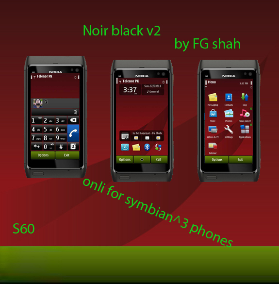 Noir black v2 by Fg Shah