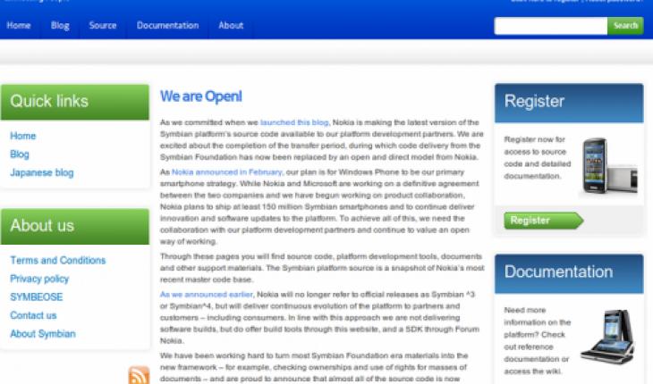 Symbian is open!