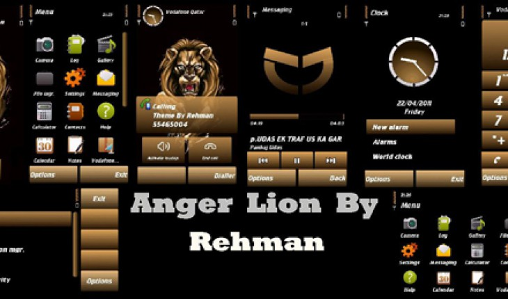 Anger Lion by Rehman