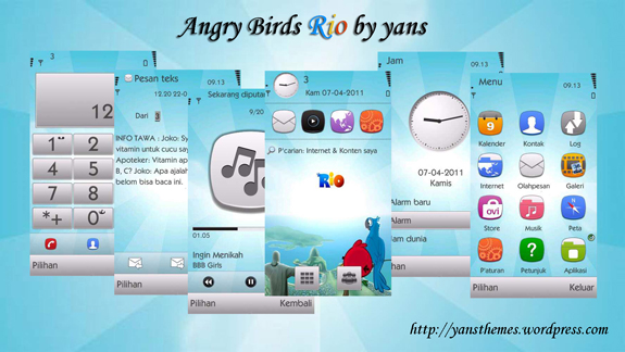 Angry Birds by Yans