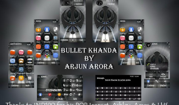 Bullet Khanda by Arjun Arora