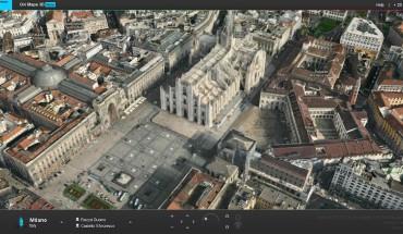 Ovi Maps 3D - Milano
