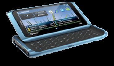 Nokia E7-00 Blue