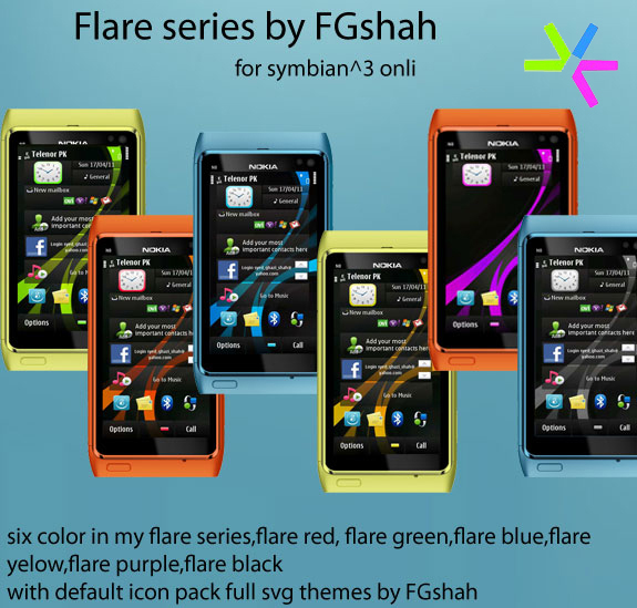 Flare Series by FG Shah