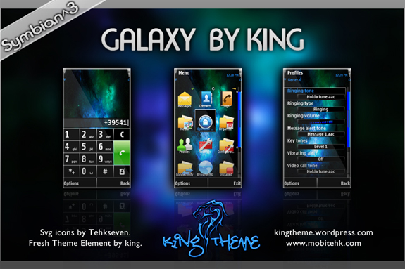 Galaxy by King
